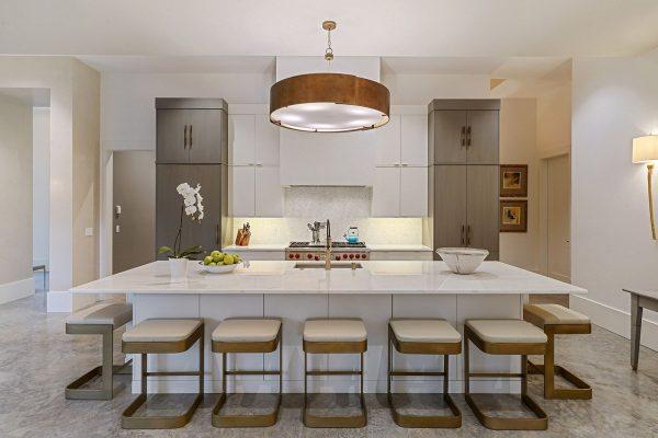 Photo of covington modern kitchen project