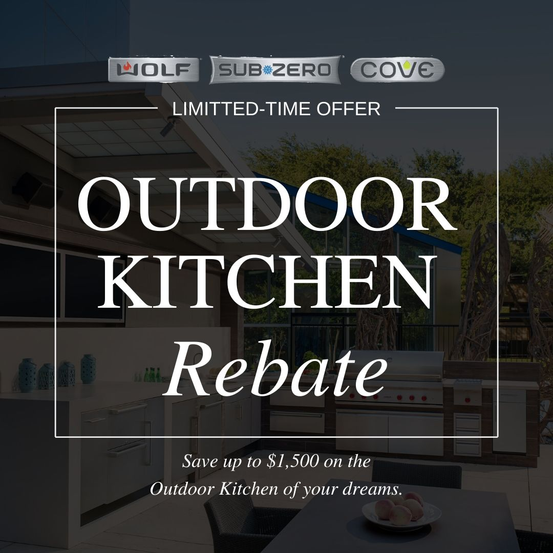 Outdoor Kitchen Rebate